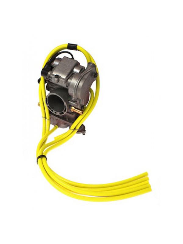 2 Stroke Carburetor Vent Hose Kit Yellow - 4MX Racing