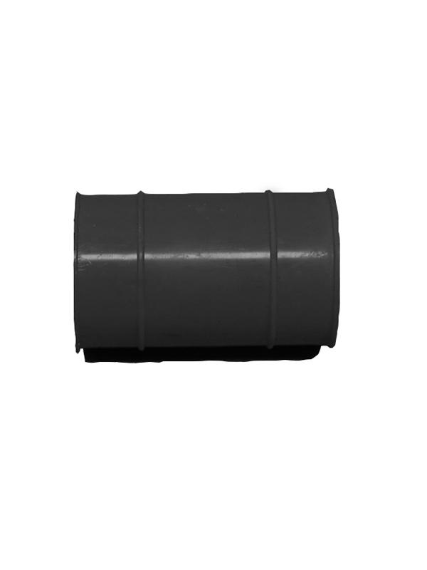 Borracha União Escape 22mm – Preto