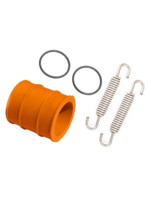 Exhaust Pipe Rubber Seal + Spring & Gasket